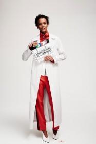 Liya Kebede pour Amazone Mode Fashion EU