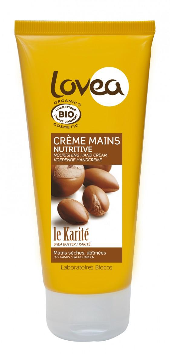 Lovea Crème mains Karité  ml e