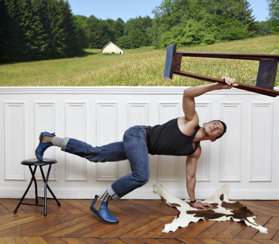 Luka_Mode¦Çle_Franc¦ºois Jour Férié Paris : Chaussures Dandy pour homme et femme