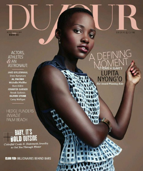 Lupita Nyongo Dujour Magazine Steven Pan cover e