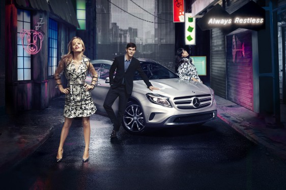 Mercedes Benz GLA Always Restless e
