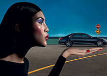 The new meximalism: Carine Roitfeld pour Mercedes-Benz