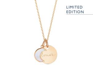 Merci Maman Les Louves collier nouvelle lune personnalise 04
