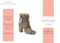 Naf-Naf S'invite à La Halle aux Chaussures
