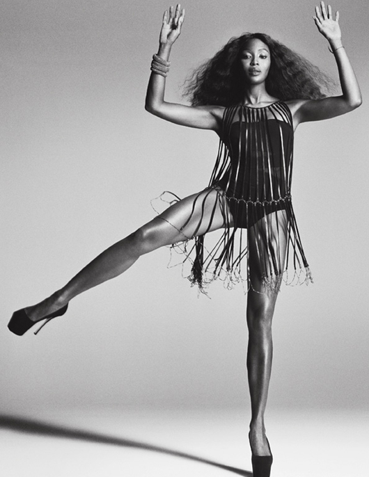 Naomi Campbell V Magazine