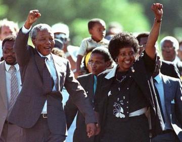 Nelson Mandela Winnie Mande