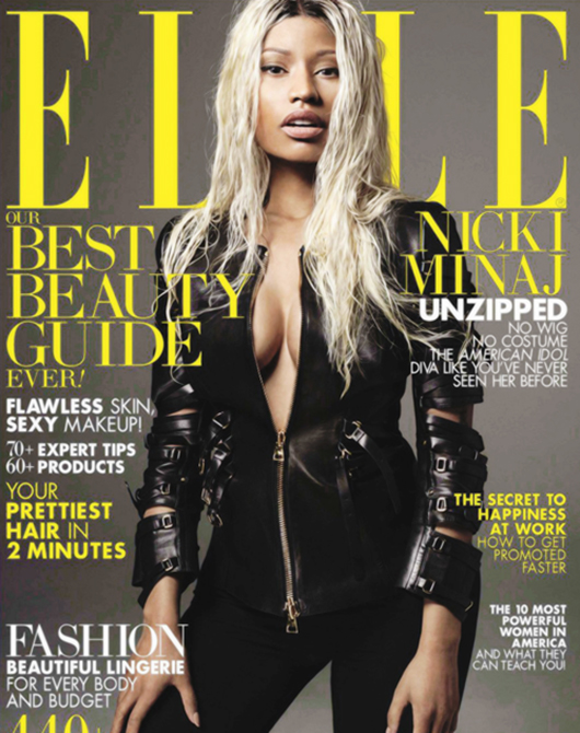 Nicki Minaj Elle US Magazine