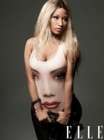 Nicki Minaj By Thomas Whiteside For ELLE April