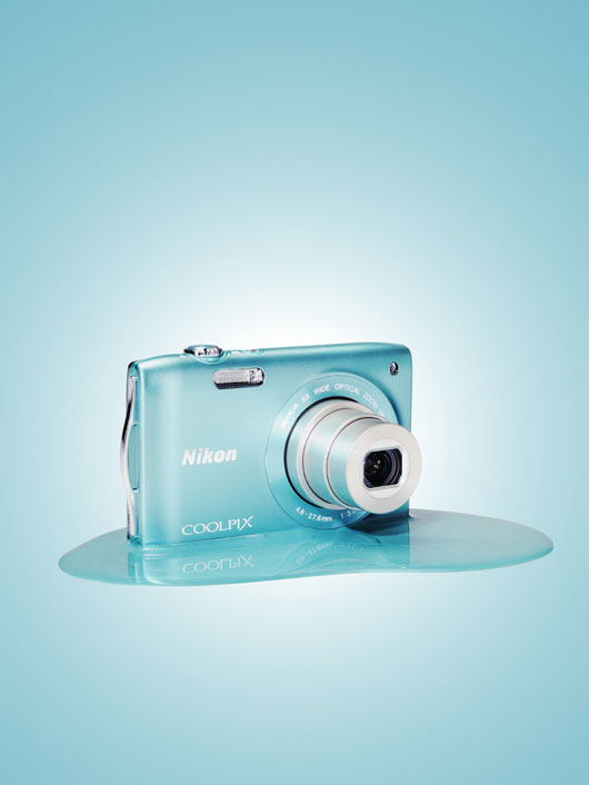 Nikon coolpix S blue