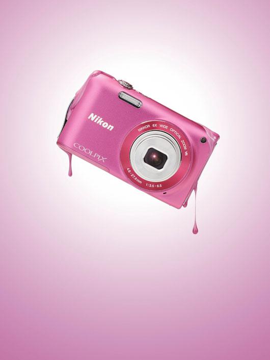 Nikon coolpix S pink