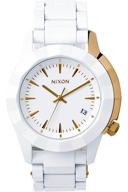 Nixon-The-Monarch-Gold-White NIXON présente la collection The Monarch