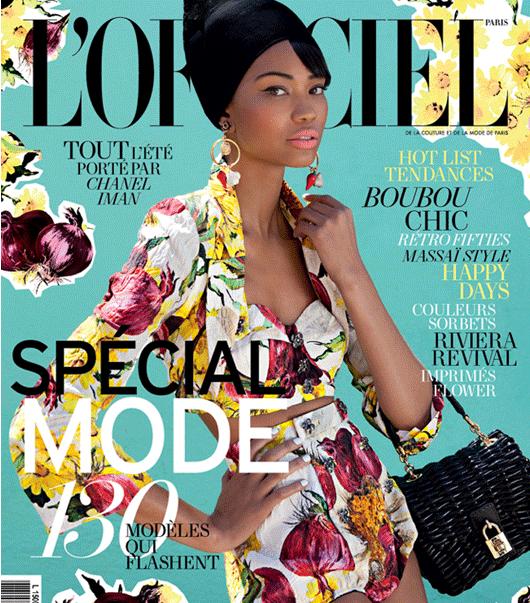 POST Chanel Iman Lofficiel 2