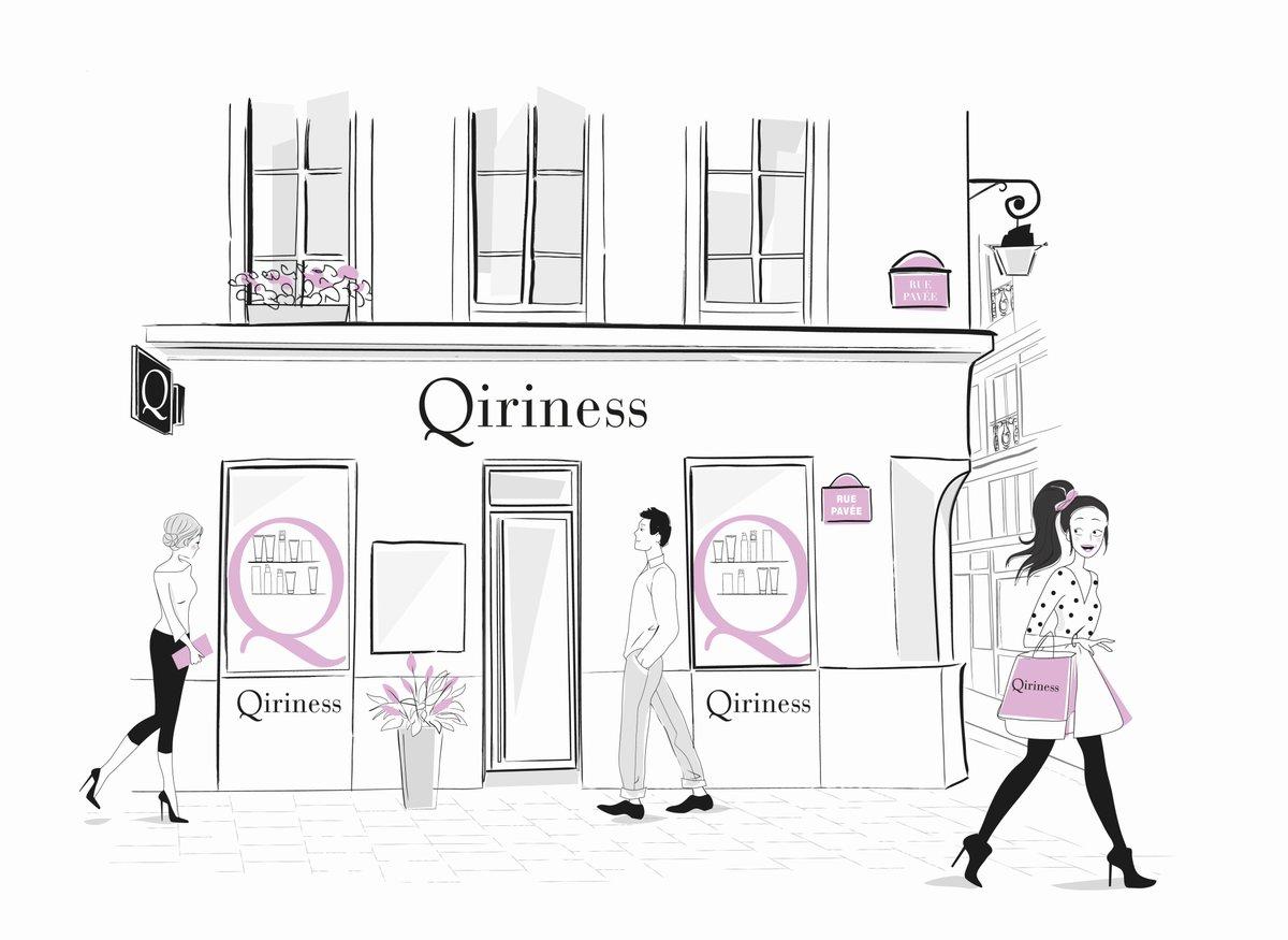 Pop Up Store Qiriness paris 01