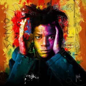 Portrait Jean michel Basquiat