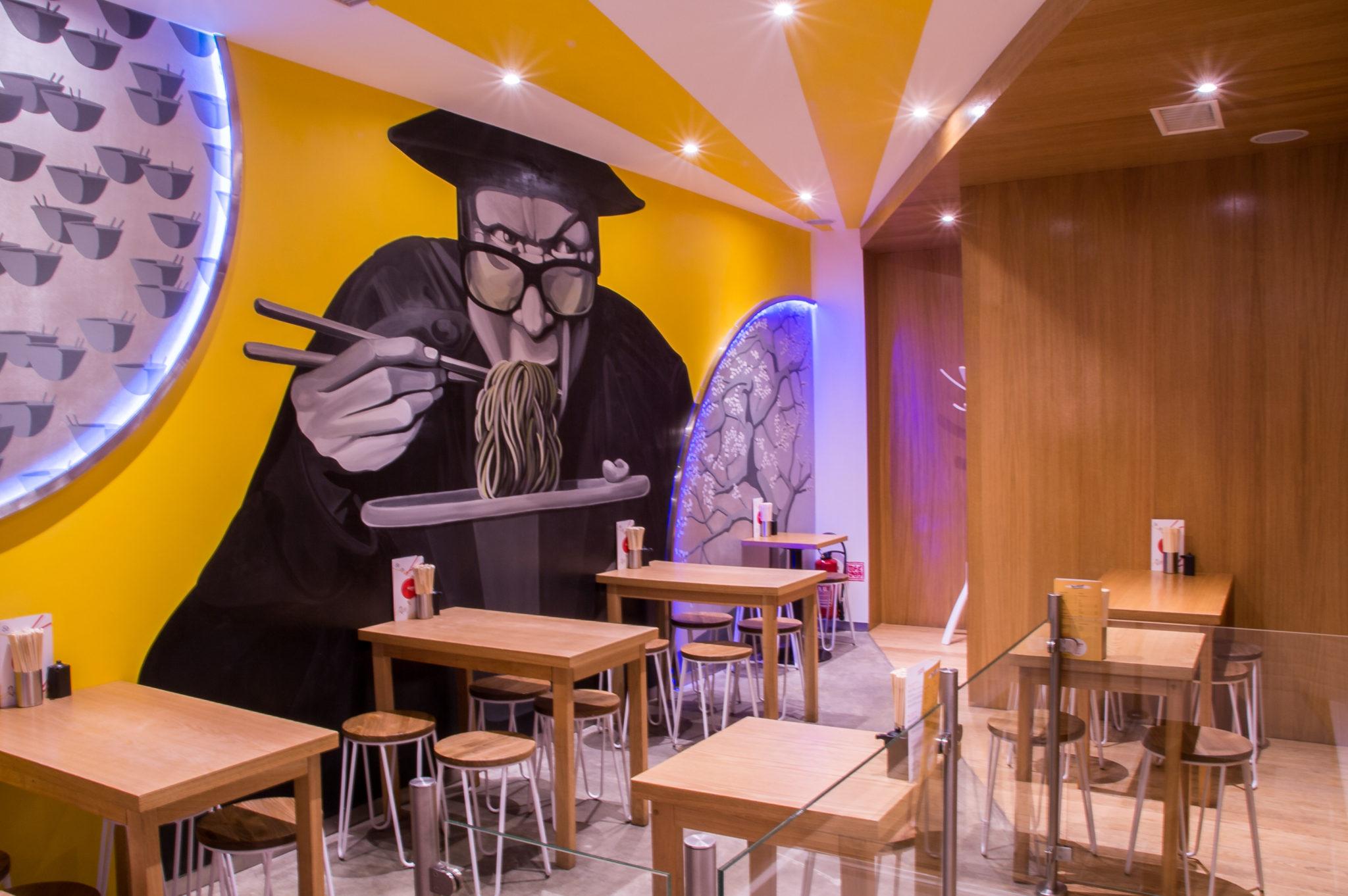 Ramen Bowl cantine street food japonaise Paris restaurant oji streetart 02