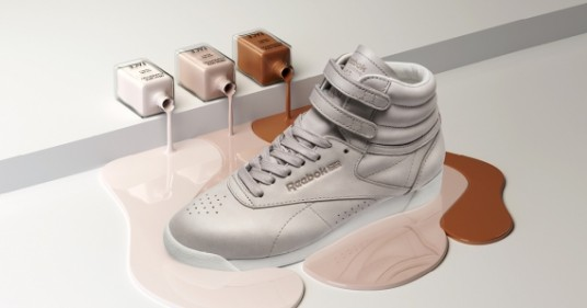 Reebok FACE Stockholm Freestyle Sneakers Soft Sand