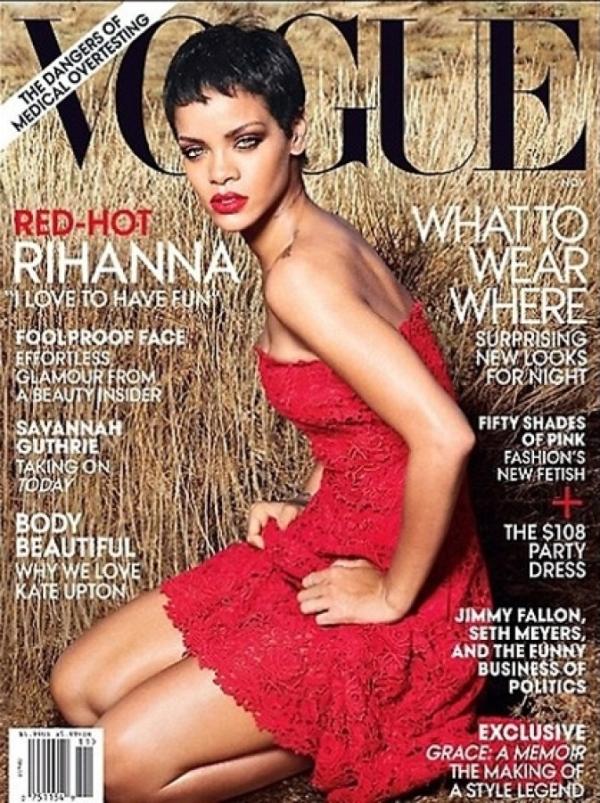 Rihanna-Vogue-Annie-Leibovitz Rihanna en couv' de Vogue US Novembre 2012