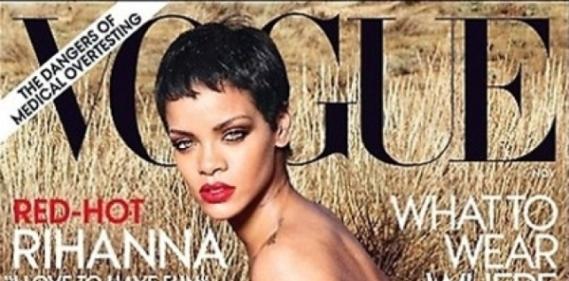 Rihanna Vogue Annie Leibovitz une