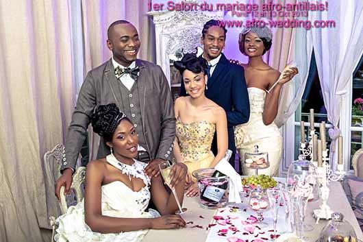 SALON AFRO WEDDING