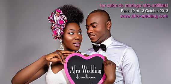 SALON AFRO WEDDING une