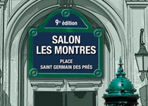 """Salon """"Les Montres"""" Place Saint-Germain des Prés du 8 au 10 novembre 2012"""
