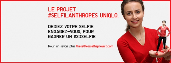 Selfilanthropes Uniqlo project