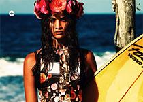 Shanina Shaik par David Gubert pour Marie Claire Australia