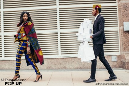 Shopping Like A Boss All Things Ankara Pop Up  Campaign
