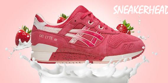 Sneakers Asics Gel Lyte III Strawberries Cream Une