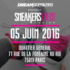 SneakersEvent ladies paris