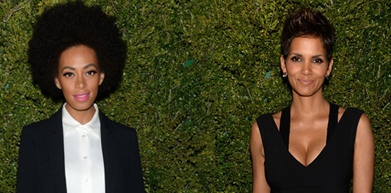Solange Knowles Halle Berry Michael Kors And United Nation World Food Programme Dinner une