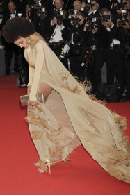 Solange Knowles Stéphane Rolland Couture  Cannes Film Festival Opening Ceremony The Great Gatsby Premiere