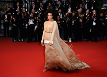 Solange Knowles Stéphane Rolland Couture  Cannes Film Festival Opening Ceremony The Great Gatsby Premiere home