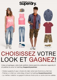 Superdry Create A Look FR concours