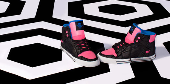 SUPRA lance une collection de sneakers pour femmes