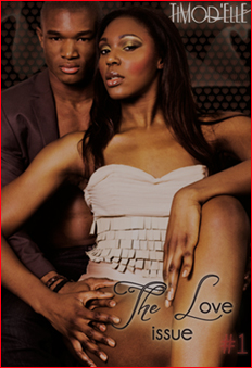 TiModelle Magazine The Love Issue Cover