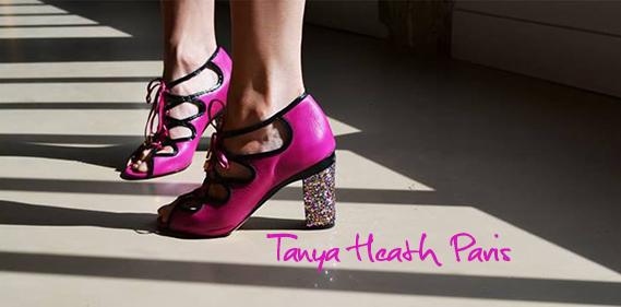 Timodelle Tanya Heath Paris une