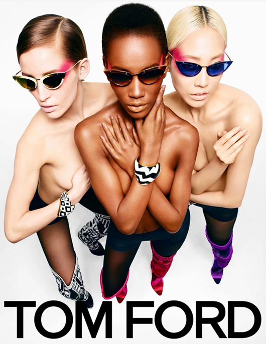 Tom-Ford-Fall-winter-2013-Ad-Campaign Herieth Paul pour la campagne Tom Ford Automne Hiver 2013-2014