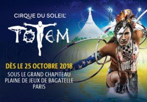 Totem Cirque du Soleil paris