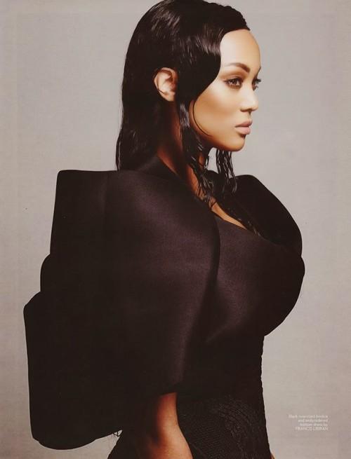 Tyra Banks Joshua Jordan Mega Magazine   e
