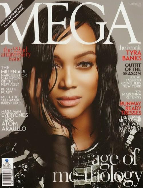 Tyra-Banks-Joshua-Jordan-Mega-Magazine-2014-e1391909720224 Tyra Banks en couv' de Mega Magazine février 2014