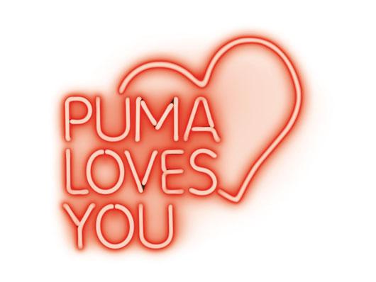 Valentines lovesyou puma