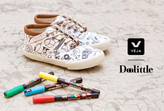 Veja_Doolittle_Chez_Centre-CommercialKids-e1395139560121 VEJA x DOOLITTLE : Atelier basket à colorier mercredi 26 mars