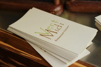 Vert Midi Restaurant Nature Paris