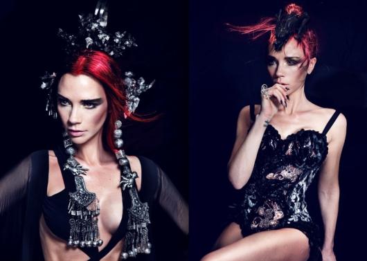 Victoria Beckham Harpers Bazaar