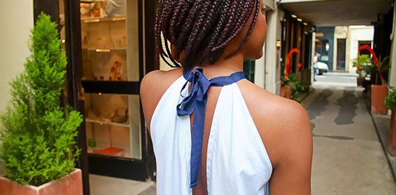 ach chajai Art to wear made in Paris Une