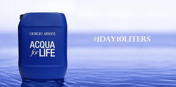 acqua for lifegiorgio armani  Une