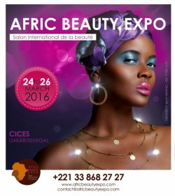 afric beauty expo dakar