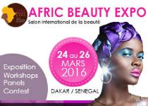 Rendez-vous au Salon Afric Beauty Expo du 24 au 26 Mars à Dakar