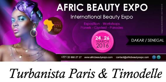 afric beauty expo dakar  Une
